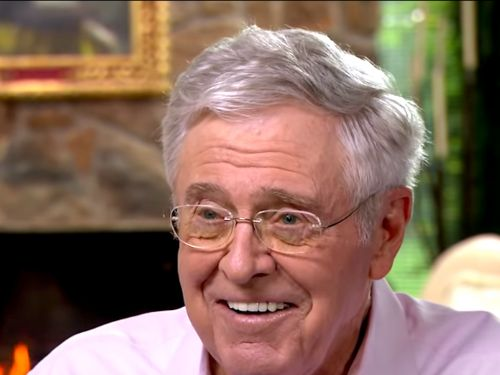 Billionaire conservative megadonor Charles Koch is backing a group behind a Supreme Court case seeking to keep charitable donations secret