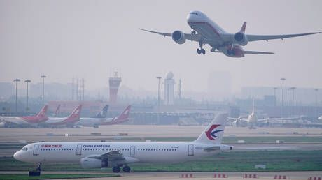 China's aviation industry takes $5-BILLION hit from coronavirus pandemic