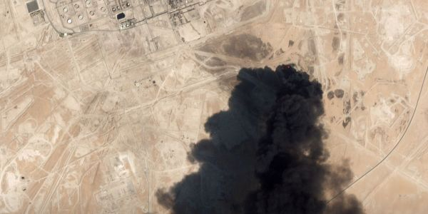 Attack that wiped out half of Saudi Arabia's oil production came from Iran, US official says
