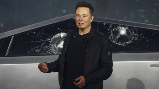 Elon Musk Unveils Tesla's Cybertruck, With A Polarizing Wedge Shape