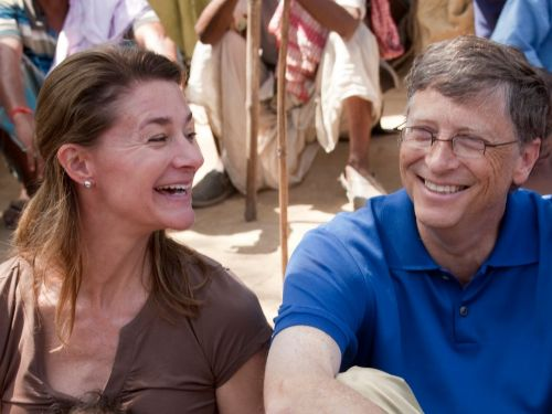 Bill and Melinda Gates wash dishes together every night and it symbolizes a feature every strong marriage has