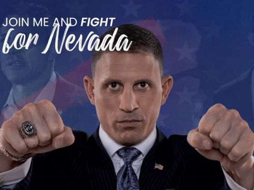 Boxer, attorney, and former reality TV star Joey Gilbert was at the Capitol on Jan 6. He's now campaigning to be governor of Nevada
