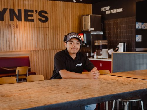 A 19-year-old fast food boss says he expects to lose half his staff in the next few weeks, as the labor shortage continues to hammer restaurants
