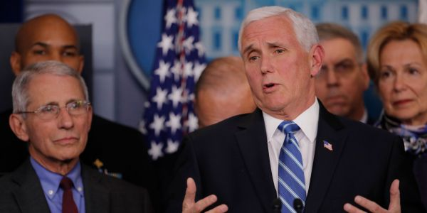 Mike Pence is reportedly blocking health officials from going on CNN to pressure the network to air Trump's full coronavirus briefings
