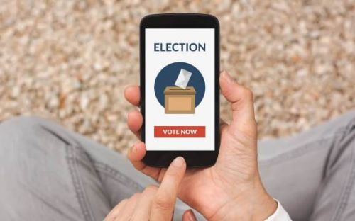 The coronavirus crisis could push the U.S. to adopt online voting by 2024