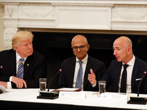 Amazon can blame Trump all it wants but Microsoft will still walk away with the $10 billion JEDI deal, analyst says
