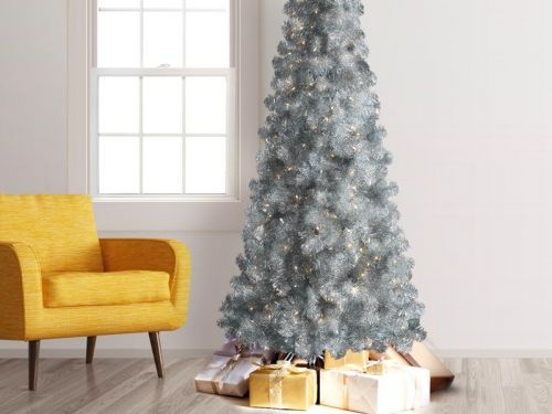 8 silver Christmas trees to give your space a fun, festive look into the New Year