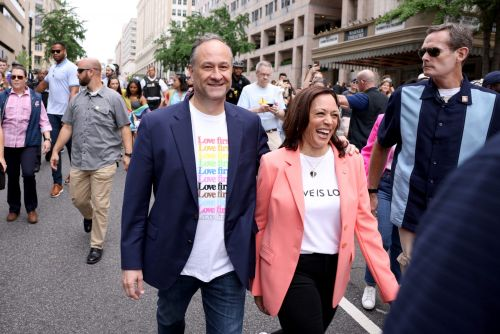 Kamala Harris is the first sitting VP to have marched in an LGBT pride parade