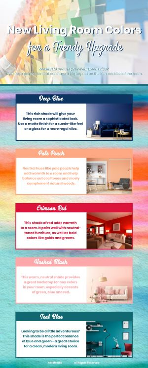 New Living Room Colors for a Trendy Upgrade