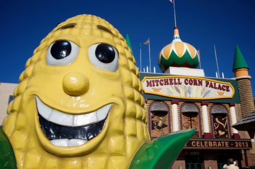 A Corn Palace official says there has been 'amazing' demand ahead of a rally by MyPillow CEO Mike Lindell