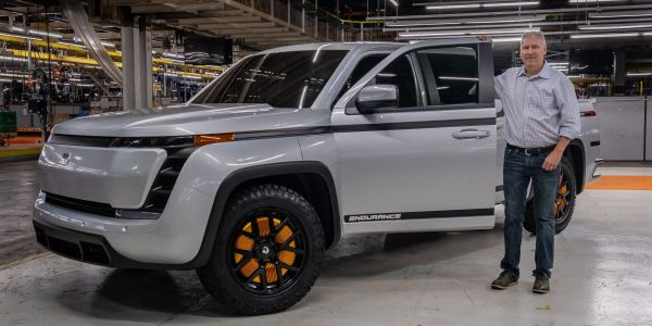 Lordstown Motors rises after the company's president says the EV maker is raising additional funds and reconfirming vehicle orders