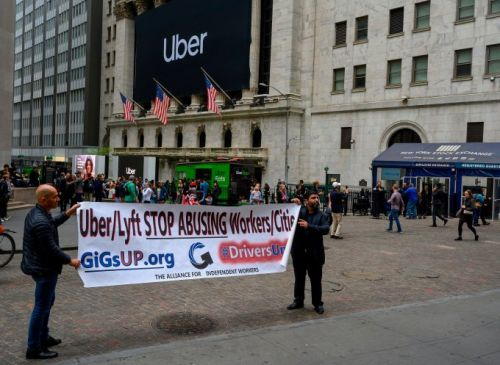 Uber opens at a disappointing $42 per share
