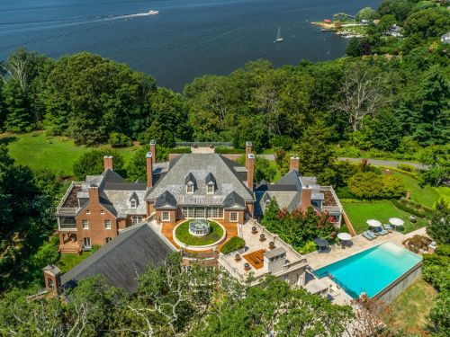 A seafood tycoon turned an abandoned former bootlegger's hideout into a $25 million dream home - take a look inside the Maryland mansion