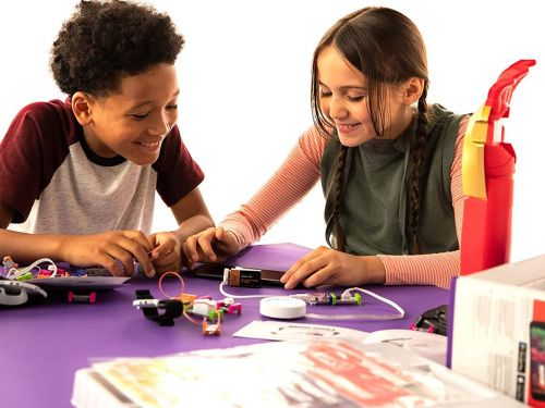 LittleBits makes toys that teach kids STEM skills - my sons and I enjoyed this $150 'Avengers' kit, but most only cost around $60
