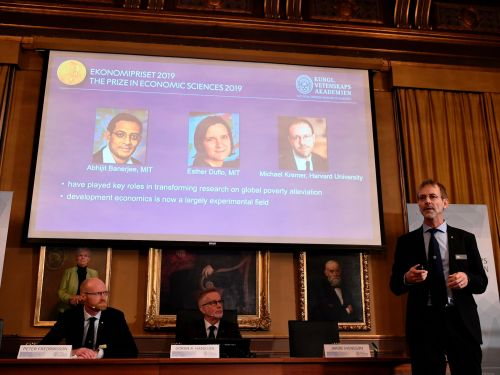 This year's 3 winners of the economics Nobel Prize revolutionized how we think about poverty. Here's an intro to their most essential research
