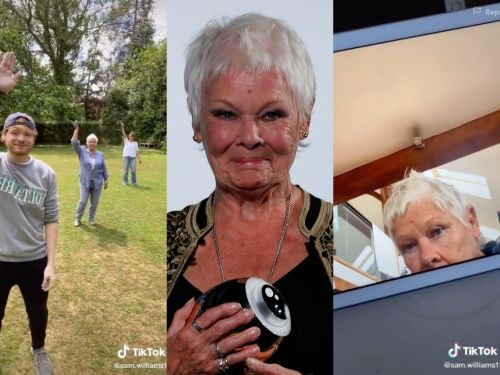 Judi Dench is just like us: She uses TikTok to break up the monotony of coronavirus quarantine