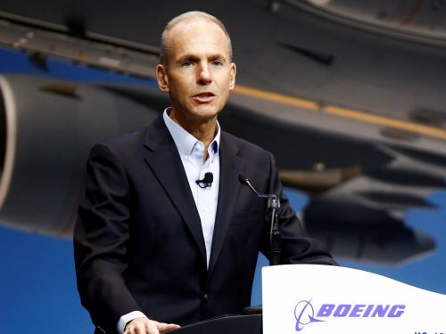 Boeing CEO vows that the fixed 737 Max will be 'one of the safest airplanes ever to fly' after the jet suffered two fatal crashes in five months