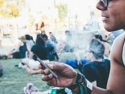 Cigarette smoking is at an all time low, but college students are increasingly turning to vaping, and schools are scrambling to regulate it