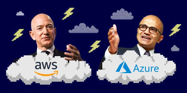 Here are the power players at Amazon and Microsoft who will play a key role in their battles over the government cloud market, which could be worth $100 billion