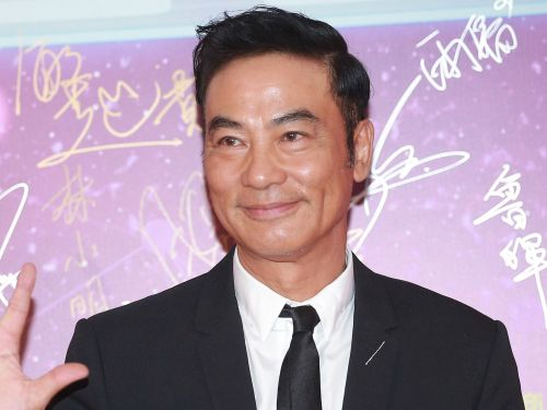 'Tomb Raider' star Simon Yam stabbed and slashed onstage in China during a presentation for a Beijing company