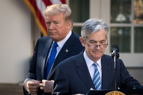 Trump asks whether the Fed chief or China is 'our bigger enemy' as the trade war takes a dark turn