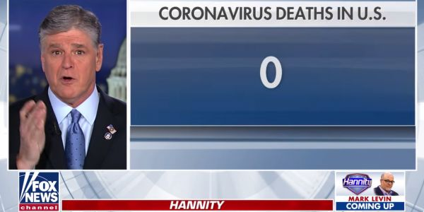 Fox News is downplaying the coronavirus even though its older audience is more vulnerable to the virus