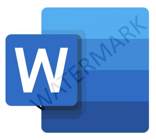 Watermark in Word on the Web