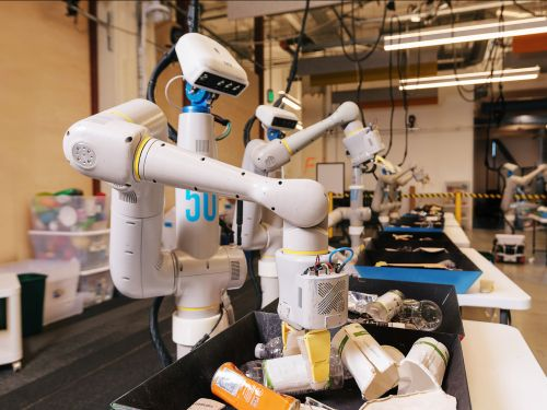 Google's parent company Alphabet is getting back into robots, but this time it's using AI to create robots that can learn on their own