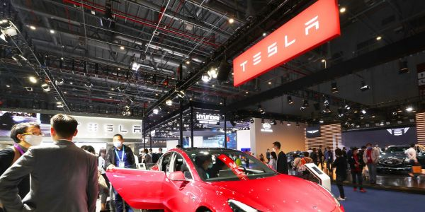 Cathie Wood's Ark funds scooped up Tesla as the stock flirted with its lowest point of 2021