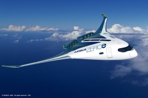 Check out Airbus's concepts for the world's first 'zero-emission commercial aircraft'