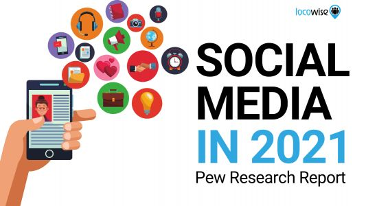 Pew Report Shows State of Social Media in 2021
