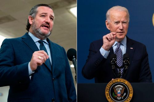 While President Biden visits storm-torn Texas, Sen. Ted Cruz will be giving a speech on 'cancel culture' in Florida