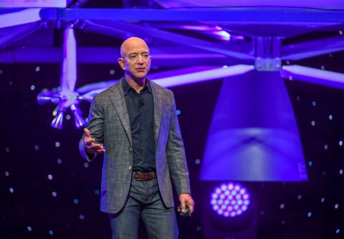 Jeff Bezos delivered his grandmother's chicken-and-rice dinner to press covering his Blue Origin space flight